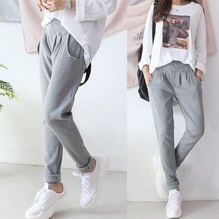 Seoul Fashion Baggy Fit Sweatpants Yesstyle Kasual Model Pakaian Remaja Gaya Busana