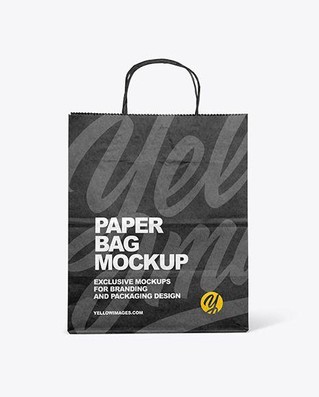 Download Kraft Paper Bag Mockup In Bag Sack Mockups On Yellow Images Object Mockups In 2021 Bag Mockup Paper Bag Mockup