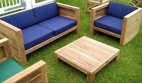 impressionnant salon de jardin bas en bois | Décoration française in ...