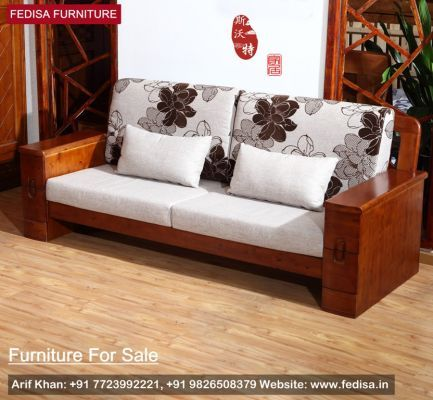 Buy Raiden 2 Seater Wooden Sofa Online In Mahogany Finish To Get An Awesome Furniture Unit Which Provides C Wooden Sofa Designs Wooden Sofa Modern Sofa Designs