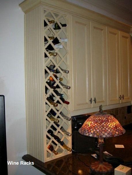 Kitchen Cabinet Wine Rack, Kitchen Cabinets Wine Rack