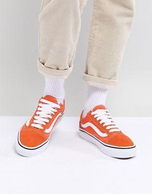 Vans Old Skool Sneakers In Orange