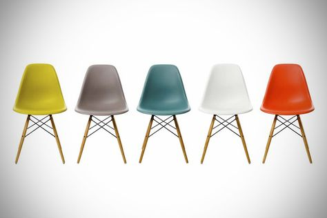 Eames Molded Plastic Armchair Wire Base Eames Dsw Chair Eames