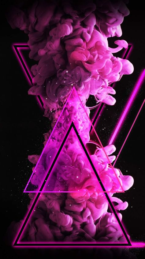 Color Bomb Triangle iPhone Wallpaper - iPhone Wallpapers