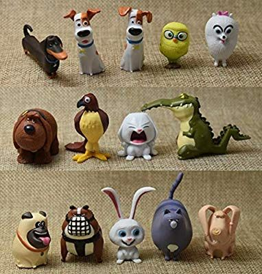The Secret Life Of Pets Collectible Mini Toy Figures Toy Playset