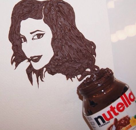 Made out of Nutella yes lick me lol