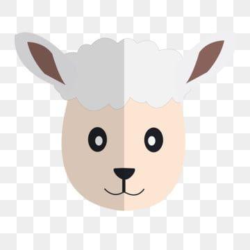 رسم كاريكتوري رأس الخروف أبيض الرسم الحر إبزيم كرتون زر الحمل الحر رأس الأغنام Png وملف Psd للتحميل مجانا Cartoon Sheep Character
