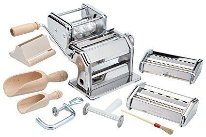Imperia Pasta Maker Machine Deluxe 11 Piece Set W Machine