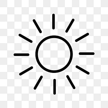 Vector Icone De Sol Icones Do Sol Quente Ensolarado Imagem Png E Vetor Para Download Gratuito Ilustrasi Ikon Ikon Grafis