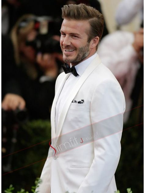 David Beckham Photos - David Beckham attends the 'Charles James: Beyond Fashion' Costume Institute Gala at the Metropolitan Museum of Art on May 2014 in New York City. - Red Carpet Arrivals at the Met Gala