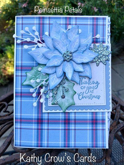 Christmas Cards To Make, Noel Christmas, Xmas Cards, Holiday Cards, Christmas Poinsettia, Poinsettia Cards, Winter Karten, Fancy Fold Cards, Beautiful Handmade Cards