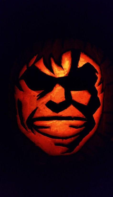 pumpkin template my hero academia  My Hero Academia in 6 | Pumpkin carving, Pumpkin, My hero ...