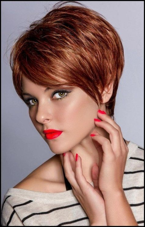 List Of Pinterest Kurzhaarfrisuren Damen Freche Rundes Gesicht 2018