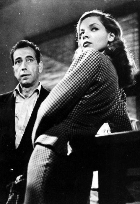 Bogey  Bacall   Humphrey Bogart and Lauren Bacall