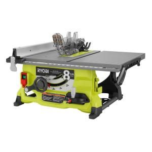 Ryobi 13 Amp 8 1 4 In Table Saw Rts08 The Home Depot In 2020