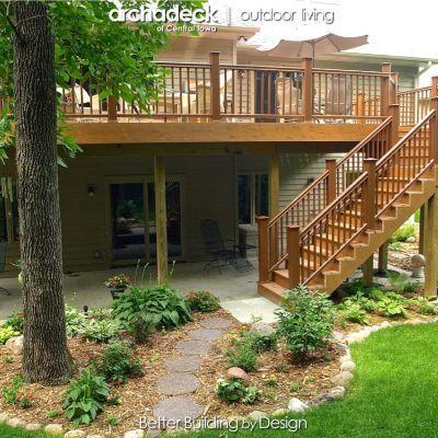 22 Awesome Pergola Patio Ideas Patio Landscaping In 2020 Deck Landscaping Decks Backyard Patio Under Decks