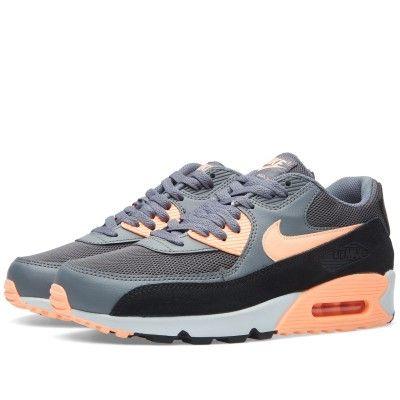 Nike W Air Max 90 Essential (Dark Grey & Sunset Glow)