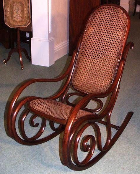 interior design furniture design furniture Antique rocking chairs ...