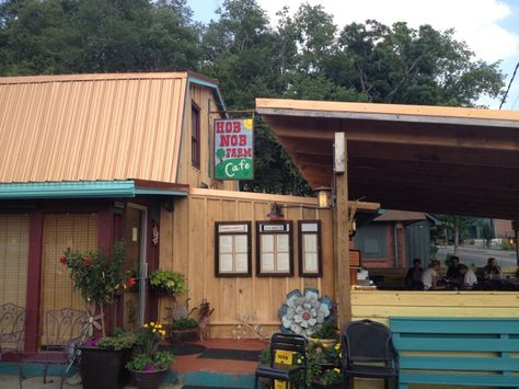 Get a street view and great variety on the menu, including vegan and vegetarian options, at Hob Nob Café | Downtown Boone, NC
