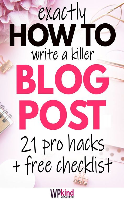 21 Things To Do Before You Publish Your Blog Post