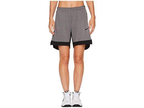 Nike Dry Elite Basketball Short Black Black Black Women S Shorts Buckle Down In The Dry Elite Basketball Short And Run Drills With Inten Elite Shorts Nike Clothes