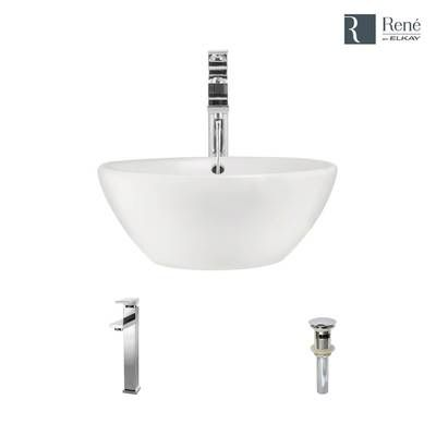 Classically Redefined Vitreous China Rectangular Vessel Bathroom Sink With Overflow Sink Porcelain Bathroom Sink Faucet