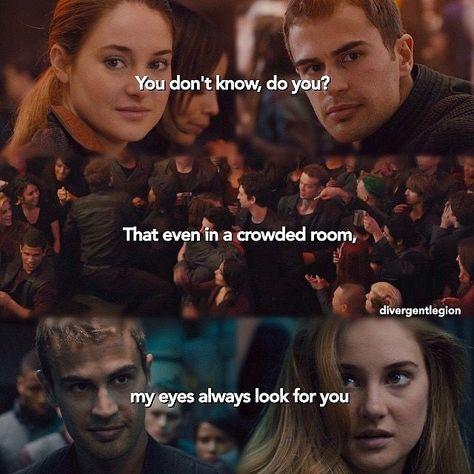 Tris et Quatre Divergent Jokes, Divergent Hunger Games, Divergent Fandom, Divergent Trilogy, Tris And Tobias, Tris And Four, Insurgent Quotes, Divergent Insurgent Allegiant, Divergent Fanfiction