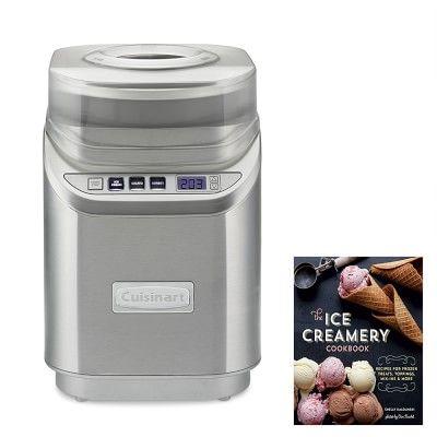 Cuisinart 2 Qt Ice Cream Maker With Williams Sonoma The Ice Creamery Cookbook Electric Ice Cream Maker Ice Creamery Best Ice Cream Maker