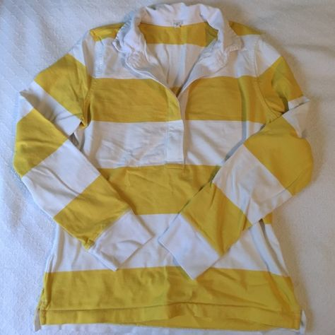 J Crew Rugby Shirt Long Sleeve