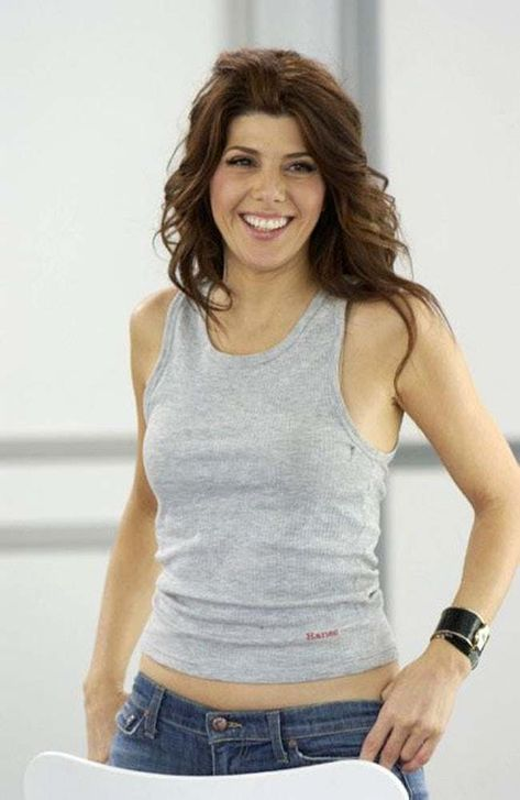 Marisa Tomei in Gray Tank Top  is listed (or ranked) 8 on the list The 37 Hottest Marisa Tomei Photos