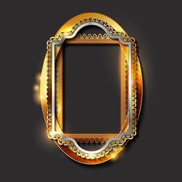 Decorative Vintage Golden Frames And Borders Border Golden Antique Png And Vector With Transparent Background For Free Download In 2021 Vintage Frames Vector Blue Texture Background Gold Photo Frames