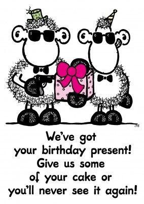 We Ve Got Your Birthday Present Comic Cartoons Echte