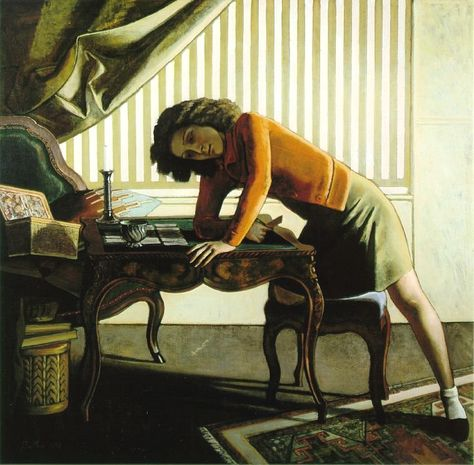 Balthus. Part 3 – Antoinette de Watteville and exile – my daily art display