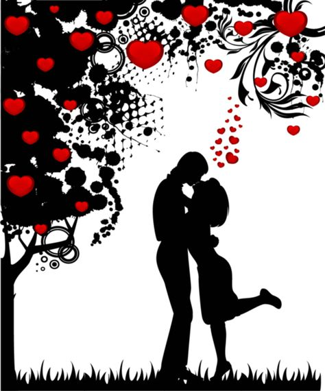 Couples Dessin Romantique Image Couple Cailloux Peints