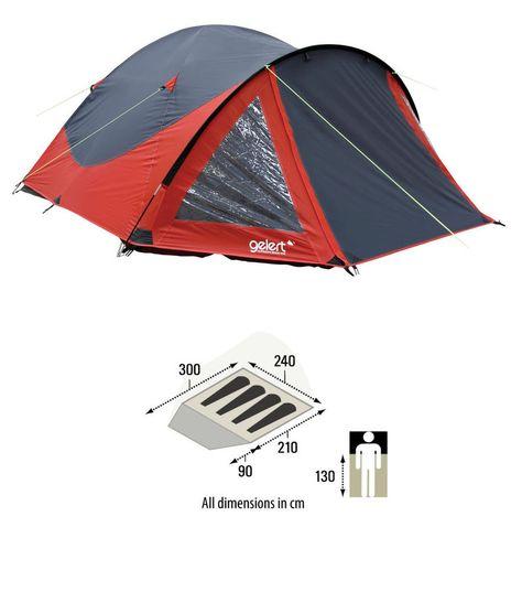 Gelert Rocky 2 Man Festival Tent   Tent