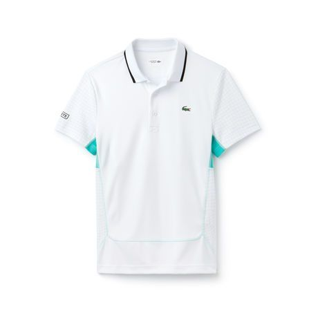 Men S Sport Novak Djokovic Print Technical Jersey Polo Sports Prints Polo Mens Outfits