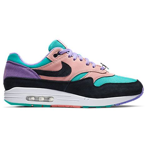 NIKE MEN'S AIR MAX 1 ND CASUAL SHOES, PURPLE. #nike #shoes