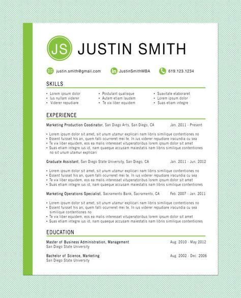 Customized Resume: The Innovator