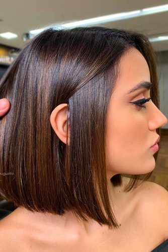55 Versatile Medium Bob Haircuts To Try Lovehairstyles Com Rich Brown Hair Rich Brown Hair Color Girl Hair Colors