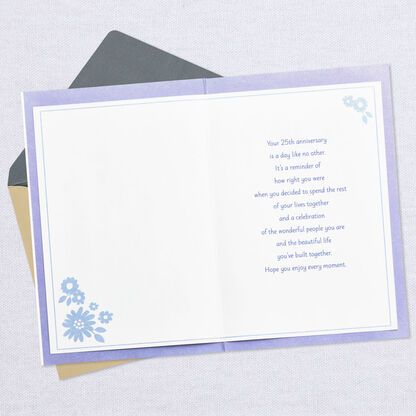 For A Special Couple 25th Anniversary Card Greeting Cards Hallmark Anniversary Cards 25th Anniversary Anniversary