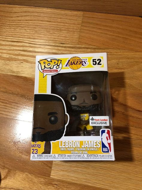 Details about Funko POP! Lakers  52 Lebron James Yellow Jersey NBA Foot  Locker Exclusive RARE  b8e358cbb