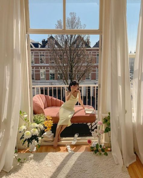 Style Deco, Aesthetic Rooms, Aesthetic Photo, Dream Apartment, Porch Swing, My Room, Future House, Modern, Sweet Home
