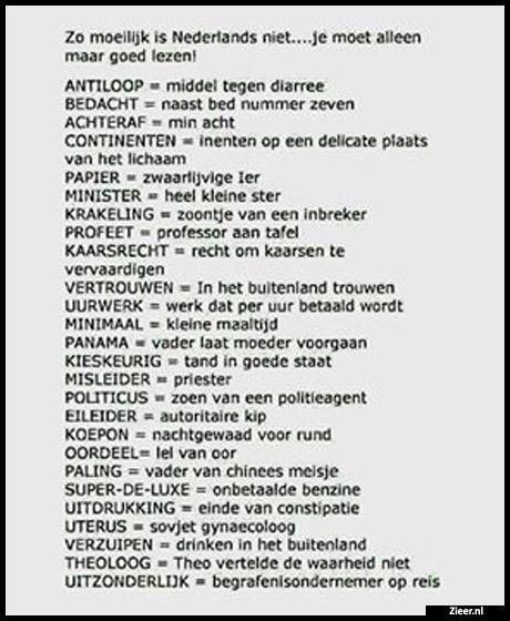Zo Moeilijk Is Nederlands Niet Moeilijk Nederlands Niet In 2020 School Memes Humor About Me Blog