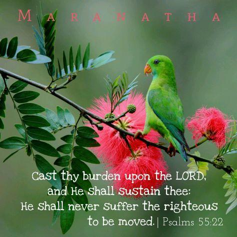 Psalms 55:22 KJV