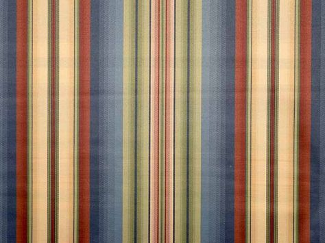 Blendworth Bowhill Stripe Curtain Fabric - 002 Multi - The Millshop Online #fabric