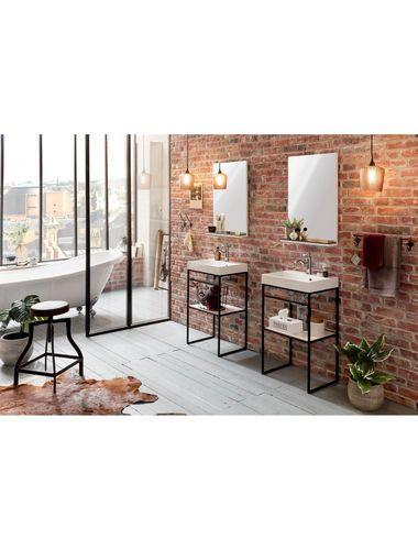 Schildmeyer Waschtisch Moris Breite 50 Cm Waschtisch Mit Schlichter Formgebung Furs Badezimmer Massives Gestell In 2020 Klassische Badmobel Badspiegel Badezimmer