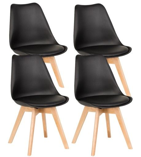 4szt X Nowoczesne Czarne Krzeslo Z Poduszka Salonu 389 99 Zl Allegro Pl Raty 0 Darmowa Dostawa Ze Smart Chorzow Stan In 2020 Decor Dining Chairs Interior