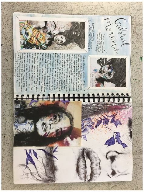 Art Journal Pages, Art Journal Challenge, Art Journal Prompts, Art Journal Techniques, Art Pages, Journal Ideas, Sketch Journal, Art Journals, Kunstjournal Inspiration