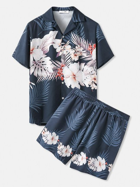 Specification :Color: NavySize: M,L,XL,2XL,3XL,4XLMaterial: Polyester,SpandexPattern: TropicalStyle: HolidayLength: ShortCustomer Age: 18-25 Years,36-45 Years,26-35 YearsFeature: BreathablePackage included:1*SetsPlease Note:1.Please see the Size Reference to find the correct size.
