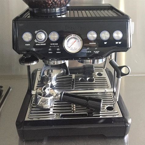 Tgifa Much Needed Coffee In Our Breville Barista Express
